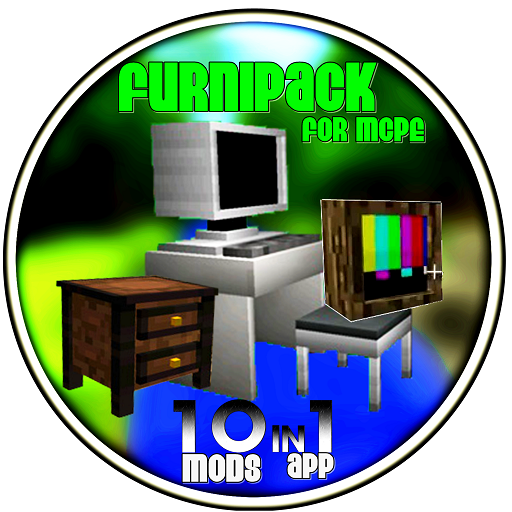 Furniture 1600 items. 10 mods in 1 app