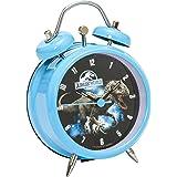 Joy Toy Indominus Rex väckarklocka av metall analog 8 cm i presentförpackning 65452