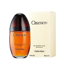 Calvin Klein Obsession Eau de Parfum Spray para Mujer 100 ml