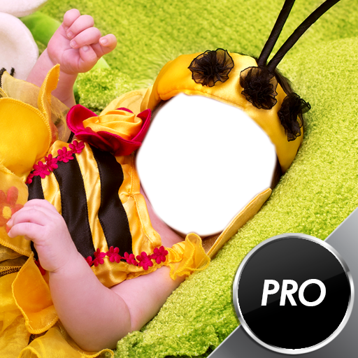 (Baby-Foto-Montage)