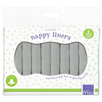 Bambino Mio, Reusable Nappy Liners, 8 Pack