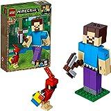 LEGO Minecraft™ 21148 Minecraft™-BigFig Steve mit Papagei