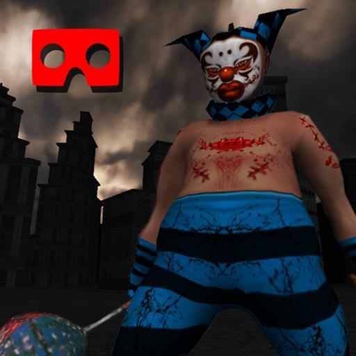 VR Killer Clown Horror Ride - Rollercoaster