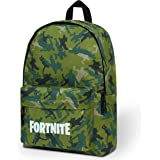 Fortnite Mochilas Escolares, Mochilas Escolares Juveniles de Gran Capacidad, Material Escolar con Merchandising Oficial