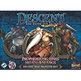 Fantasy Flight Games FFGD1327 Descent 2. Ed. -Prophezeiung Anfangs