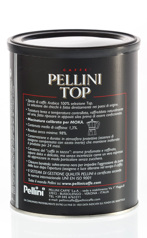 Pellini Lattina Caffè Top 100% Arabica - 250 g 3 spesavip