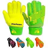 Goalie Gloves for Kids Goalkeeper Gloves Football Goalkeeping Gloves Boys Youth Adult Junior Children Strong Keeper Grip Fing