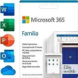 Microsoft 365 Familia | Suscripción anual | Para 6 PCs o Macs, 6 tabletas incluyendo iPad, Android, o Windows, además de 6 te