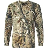 STAG Gents Long Sleeved Hunters Oak Tree camo t-Shirt Mens Cotton top Camouflage tee …
