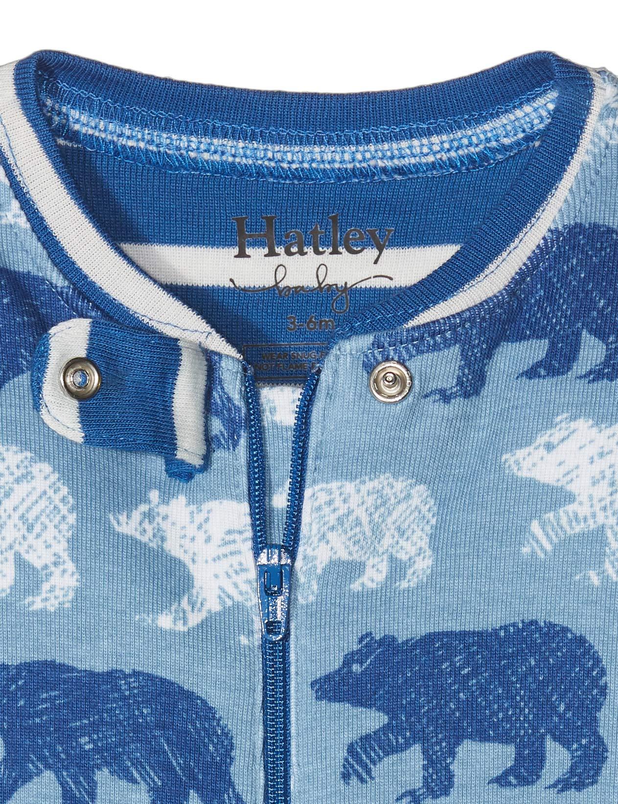 Hatley Organic Cotton Sleepsuit Pelele para Dormir para Bebés 5