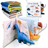 Richgv 3D Libro di Stoffa, Morbido Libri per Bambini, Neonato, Giocattoli da Viaggio, Il Mio Primo Libro, Giocattoli educativ