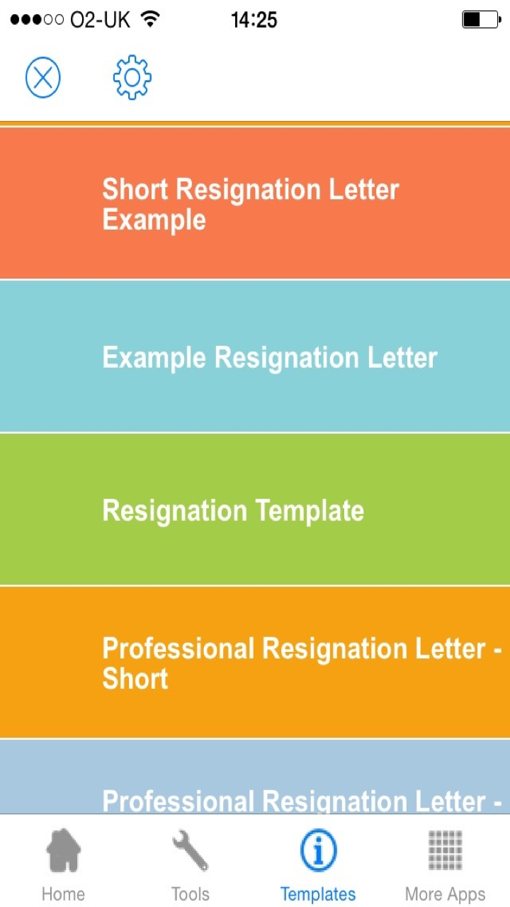 Resignation Letter Sample - Templates and Examples of Job ...