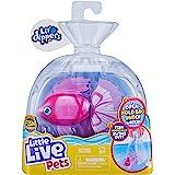 Little Live Pets Lil' Dippers - Bellariva Lil' Dippers de Little Live Pets con Efecto «Wow» al desempaquetar en Agua y Alimen