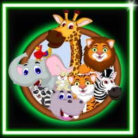 Coloring Book Draw Neon Glow Animals
