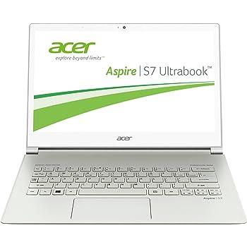 Acer Aspire S7-391-73534G25aws 33,8 cm (13,3 Zoll) Ultrabook (Intel Core i7 3537U, 2GHz, 4GB RAM, 256GB HDD, Intel HD 4000, Touchscreen, Win 8 Pro) silber
