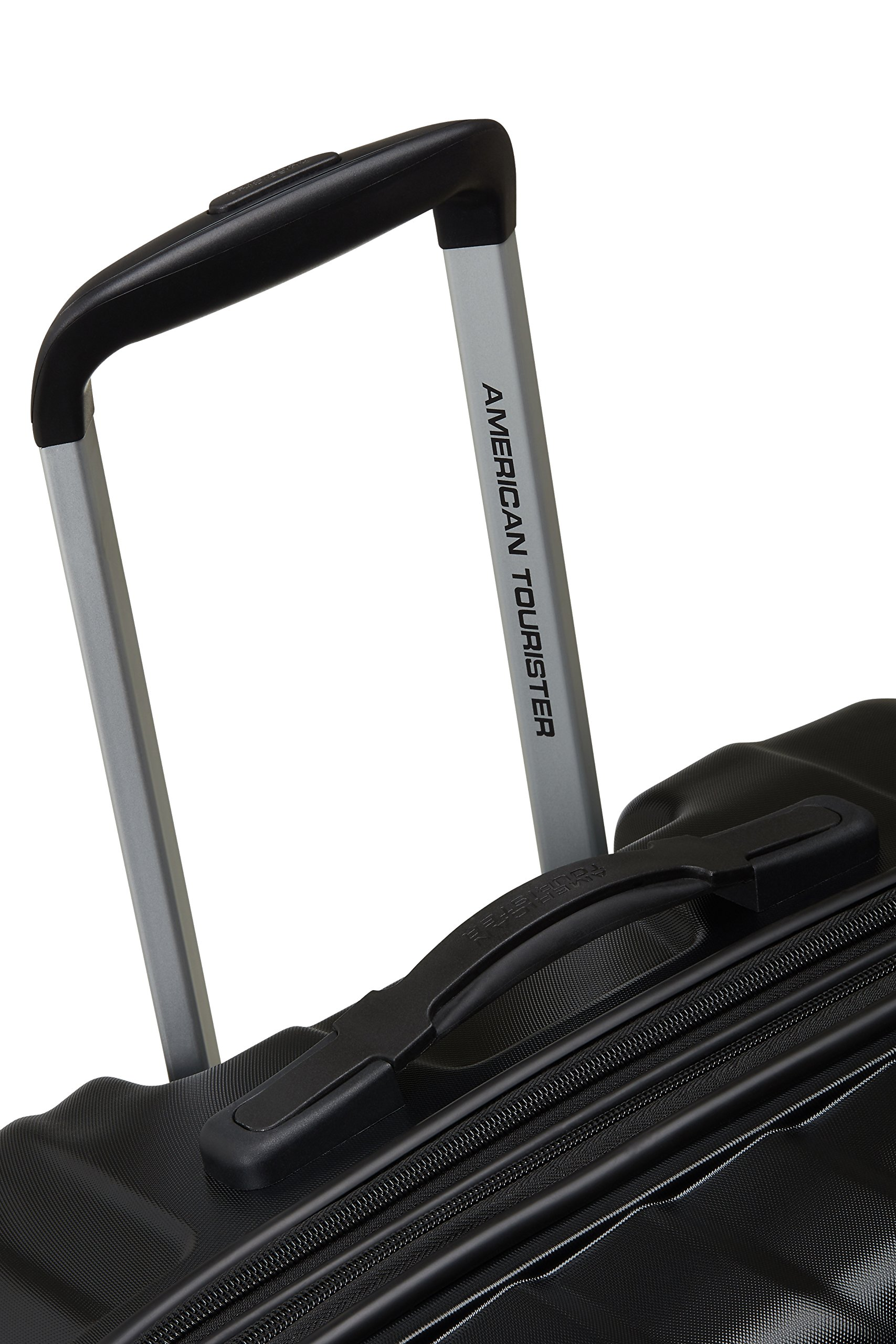 American-Tourister-Air-Force-1-Spinner-7629-Erweiterbar-965111L-41-KG-Schwarz-Galaxy-Black