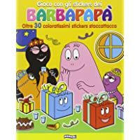 Gioco con gli stickers dei Barbapapà. Oltre 30 coloratissimi stickers staccattacca. Ediz. illustrata