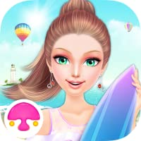 Seaside Spa Salon-girls games
