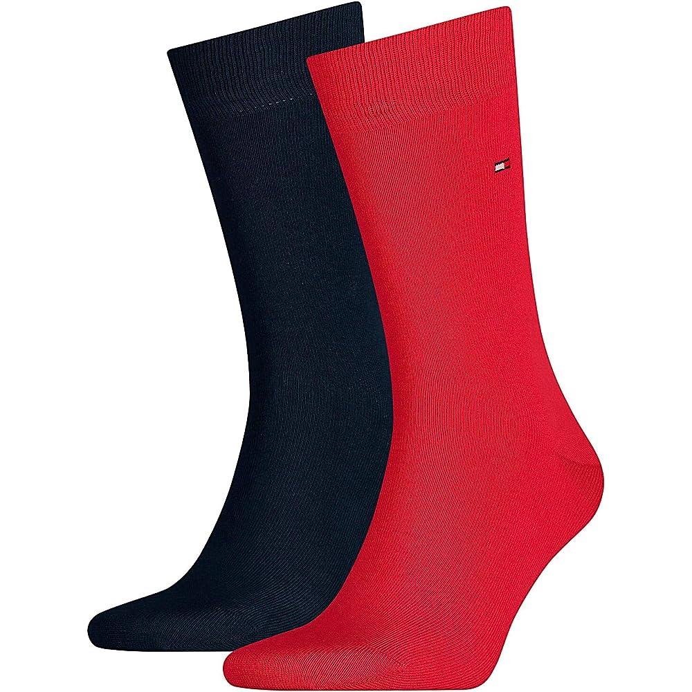Tommy hilfiger ,  calze per uomo , 75% cotone, 23% poliammide, 2% elastan 371111A