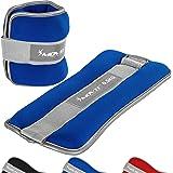 Movit® Set van 2 gewichtsmanchetten neopreen met reflecterend materiaal (2 x 0,5 kg/1,0 kg/1,5 kg/2,0 kg/3,0 kg), optioneel m