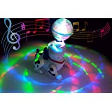 Popsugar Musical Dancing Dog with Lights for Kids, White