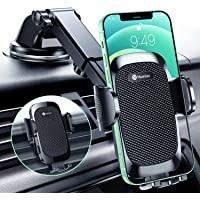 Humixx Handyhalterung Auto Saugnapf, Upgrade Dual Release Button Handyhalter fürs Auto Lüftung Windschutzscheibe 3 in 1…