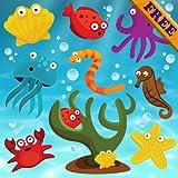 Puzzles poissons pour les tout-petits et les enfants GRATUIT