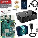 LABISTS Raspberry Pi 3 Modèle B Plus (3 B+) Starter Kit avec 32 Go Classe 10 Micro SD Carte, 5V 3A Alimentation…