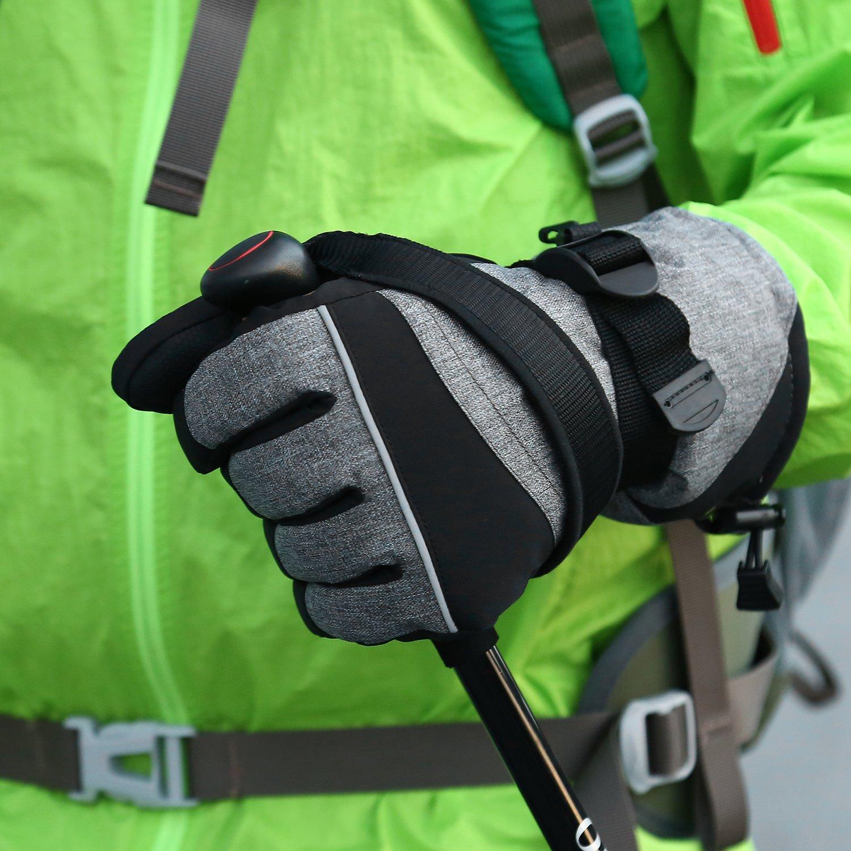 29a1d4837abcc8 Andake Original 3M Thinsulate | Touchscreen Funktion wählbar | extrem warm  wasserdicht Winddicht Rutschfest atmungsaktiv | Handschuhe Skihandschuhe ...