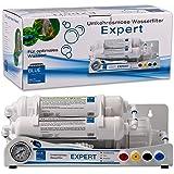WAGNER Blue Umkehrosmose Wasserfilter EXPERT | 3 stufige Osmoseanlage für Aquarium | Professioneller Wasserfilter zur Herstellung von Osmosewasser