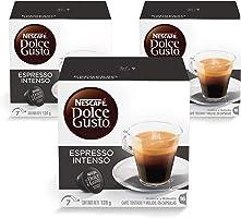 Nescafe Dolce Gusto Espresso Intenso Coffee Capsules, 3X128 gm