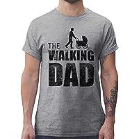 Shirtracer Cadeau d'anniversaire et de fête des pères pour Papa Walking Dad Tshirt pour Homme