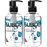 Lubido Lubido-ORG250-x2 Glidmedel för Intimt Område Utan Parabener, 2 x 250 ml, Svart
