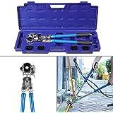 Femor - Tenaza crimpadora, prensadora, punzonadora, crimpadora de cables, tuberías, perfil TH/V