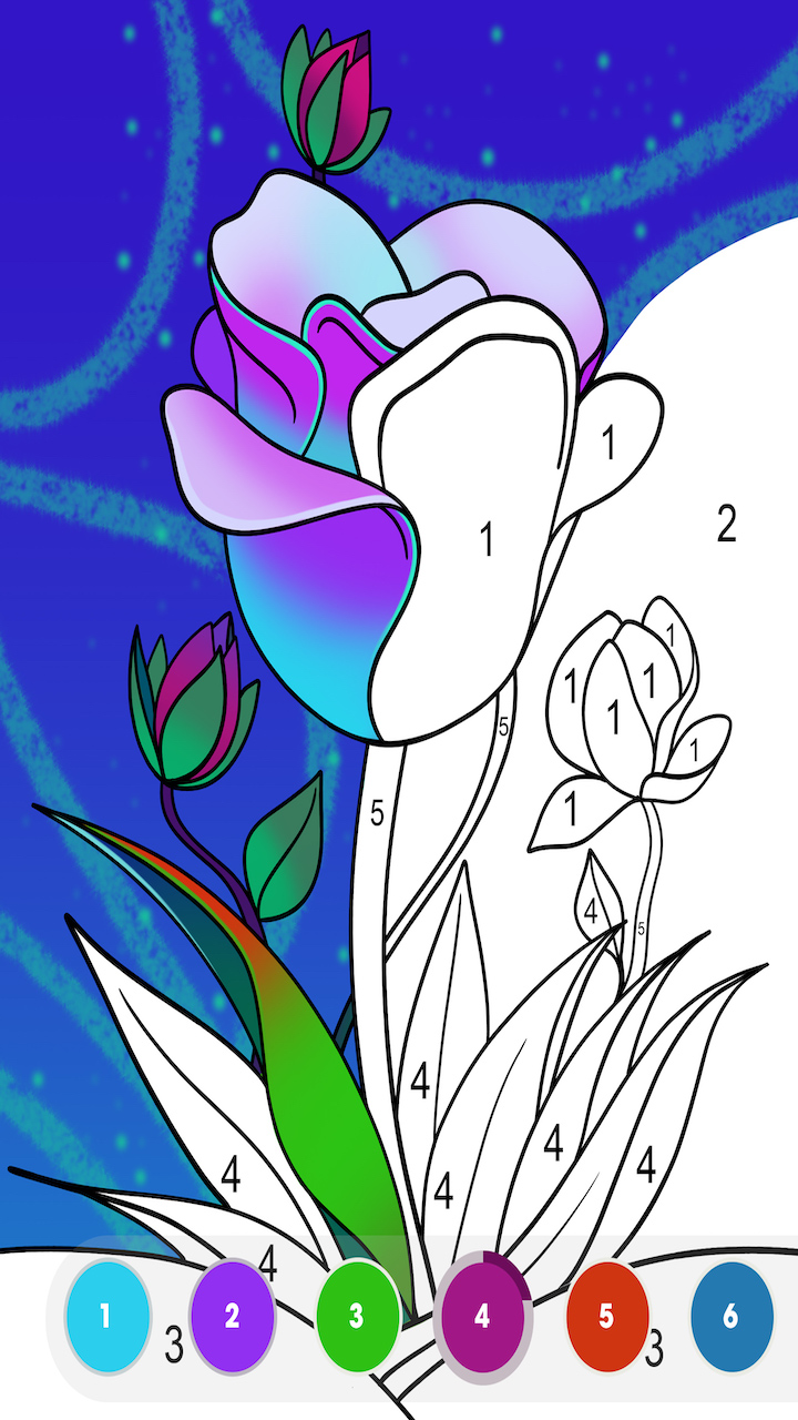 Paint By Number Free Colouring Game Painting Book By Fun Games For Free Amazon Co Uk Apps Games