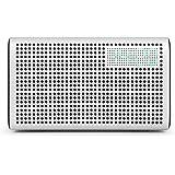 GGMM E3 Multiroom Lautsprecher Wi-Fi/Bluetooth, Airplay 20W Stereo Sound, LED Uhr/Wecker - Weiß