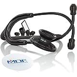 MDF® Acoustica® Stetoscopio a due testine leggero Deluxe della - Garanzia a vita & Programma-componenti-gratuite-a-vita - Tut