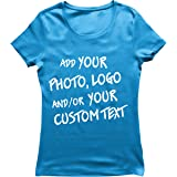 lepni.me Maglietta Donna Regalo Personalizzato Personalizzato, Aggiungere Il Logo Aziendale, Il Proprio Design o Foto