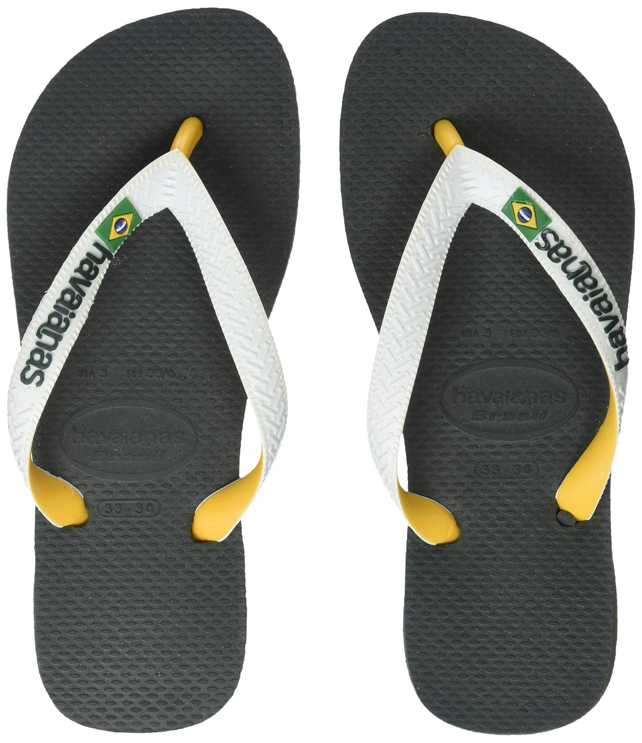 7dc637042e5 Havaianas Unisex Adults  Brasil Mix Flip Flops - Johnson Emporium
