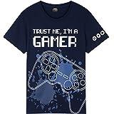 CityComfort Camiseta Niño para Gamers, 5 Modelos de Camisetas Manga Corta para Niños 7-15 Años