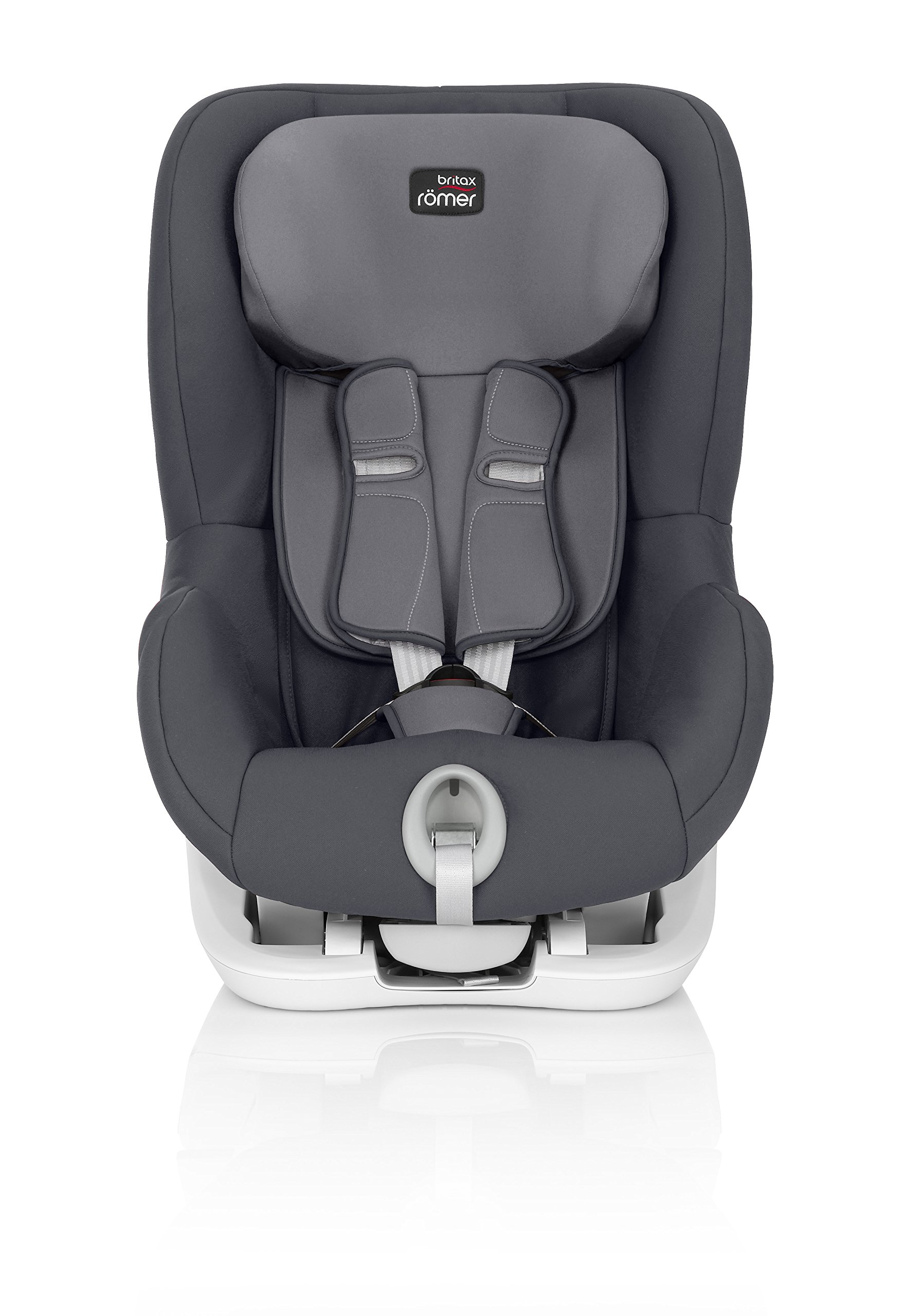 Britax Römer King II Group 1 (9-18kg) Car Seat - Storm Grey  Easy installation - with tilting seat and patented seat belt tensioning system Optimum protection - performance chest pads, deep, padded side wings 2