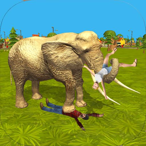 Elephant Attack 3D Simulator