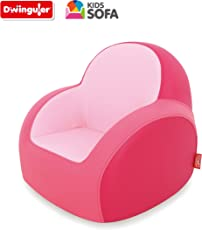 Dwinguler Sofa for Kids (Cherry Pink)