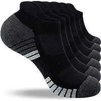 Benirap Running Socks, Cushioned Trainer Socks Sports Socks for Men Women Cotton Socks Ladies 3/6 Pairs Ankle Socks Low…