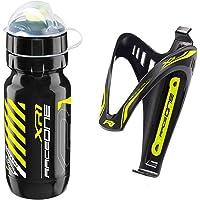 Raceone Kit Race X3M (2 PCS): Portaborraccia X3 + Borraccia XR1 Ideale per Bici Race/MTB/Gravel/Trekking Bike. 100% Made…