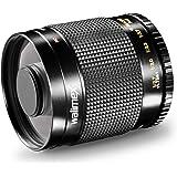 Walimex 500mm 1:8,0 CSC-Spiegelobjektiv für Sony E-Mount Bajonett schwarz (manueller Fokus, für Vollformat Sensor gerechnet, Filterdurchmesser 30,5mm, inkl. Skylight- und Graufilter)