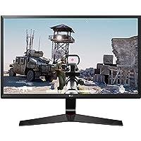 LG 24 inch Gaming Monitor - 1ms, 75Hz, AMD Freesync, Full HD, IPS Panel with VGA, HDMI, Display Port, 24MP59G (Black)