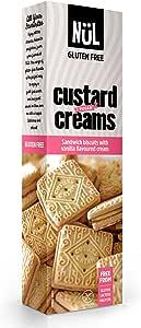 NÜL, biscotti inglesi Custard Cream con ripieno alla vaniglia, 12 x 110 g