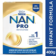 Nestle Nan Pro 1 Infant Formula Powder - 400 g