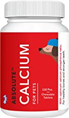 Drools Absolute Calcium Tablet- Dog Supplement, 110 Pieces